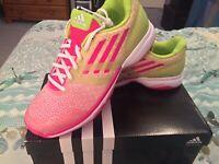 Adidas Womens Adizero Ubersonic Clay Trainers Sz Uk 7 New