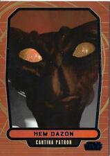 2013 Topps Star Wars Galactic Files Series 2 Blue Foil #469 Hem Dazon #79/350
