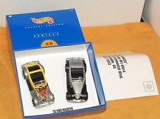 Hot Wheels KB TOYS Special Edition Series-4 Set of 2- '33 Ford Roasters #27805