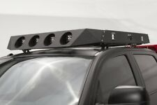 Fab Fours 4 Light Roof Rack Face Plate Dodge Ram Ford Toyota Chevrolet Nissan
