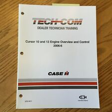 Case International IH TECH-COM Cursor 10/13 ENGINE OVERVIEW CONTROL GUIDE MANUAL