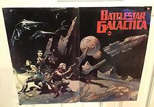 BATTLESTAR GALACTICA vintage ABC poster 1978 FRANK FRAZETTA Original Sci-fi Old