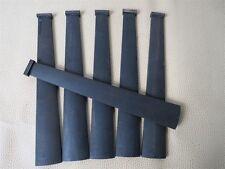 5pcs undyed black violin indonesia ebony fingerboard 1/2,INSTRUMENT PART