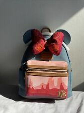 More details for disney minnie mouse main attraction loungefly bag - big thunder mountain 9/12