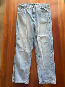 Paco Jeans Classic Fit Denim Men's Size 38 x 32 Stitching Detail