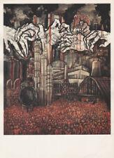 LEA GRUNDIG - BOURGEOISIE PROLETARIAT EAST GERMAN SMALL POLITICAL ART PRINT 1975