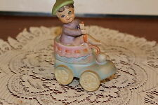 Vintage.Estate.Pixie In Baby Shoe.Figurine