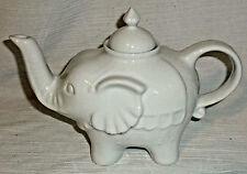 BIA Cordon Bleu Teapot Elephant Tea Pot Figural Raised Trunk