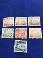 Nauru Island Stamps,7,MLH, 1924, Cat Val: $17 US, Price:$5US  (2235)