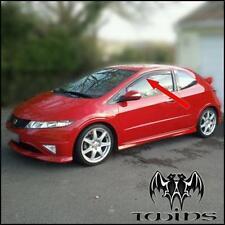 Deflettori Aria Antiturbo Oscurati Honda Civic 3p AncheType R  2007-2012 3 porte