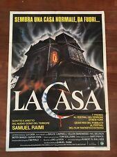 manifesto,2F,U,La casa (The Evil Dead) ,SAM RAIMI HORROR,Campbell Baker