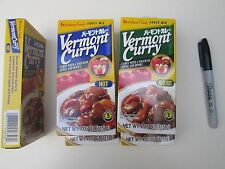 ❤ Japanese Curry Sauce Mix VERMONT CURRY Block Apple & Honey 4.05 oz FREESHIP