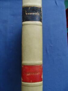 DINDORFIUS-HERODOTI HISTORIARUM LIBRI IX-CTESIAE CNIDII-TESTO GRECO/LATINO-1928