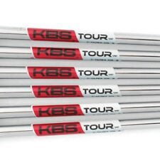 New KBS Tour C-Taper 105  Iron Shafts .370 Parallel Tip - Choose Flex & Quantity