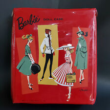Vintage Barbie Doll Case Red by Ponytail 1961