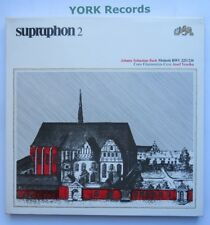 SU 72.001 - BACH - Motets BWV 225/230 VESELKA  - Ex Con 2 LP Record Box Set