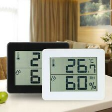 Temperature Humidity Meter Gauge Digital Weather Station Smart Climate Control