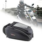 Black Magnetic Motorcycle Motorbike Oil Fuel Tank Bag Waterproof Backpack Bags