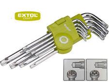 Winkelschlüssel Innen Torx Schlüssel Satz 9-tg Werkzeug Schrauben Dreher Set