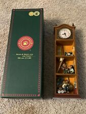 Boyds Bears, Bearstone Collection, Grandpa's Ol' Time Clock 2006 Limited Edition