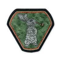 PDW Bushcrafty Rabbit Flash Morale Patch Prometheus Design Werx Bushcraft pipe