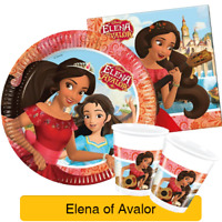 Disney Princess ELENA OF AVALOR Birthday Party Tableware Supplies Decorations