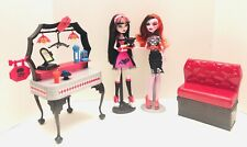 Monster High Die-Ner Draculaura & Operetta Dolls & Playset - Adult Collector!