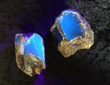 Top Qualität Sumatra Blauer roh Bernstein ca. 40g