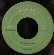 "The Nightriders(7"" Vinyl)Manhattan Jungle-MCE-Mus 1-Germany-Ex/VG"