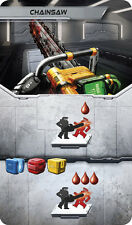 Adrenaline: Chainsaw Promotional Card [Card & Board Game Piece, Czech Games] NEW