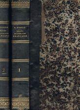 Leçons et Modèles de LITTÉRATURE Française par P.-F. TISSOT en 2 Tomes 1935-1936