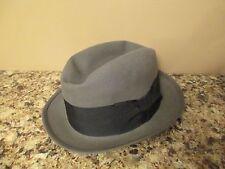 Royal Stetson Fedora Hat - Medium Gray - Size 7 EUC - John B. Stetson Co.