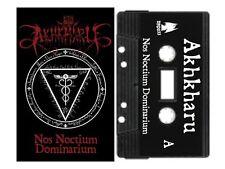 AKHKHARU - Nos Noctium Dominarium Cassette dark ambient ritual Coil Zos Kia
