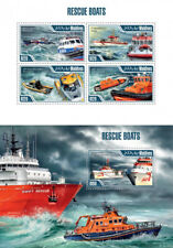 Rescue Boats Ships Schiffe Boote Sea Water Transport Maldives MNH stamp set