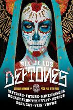 DIA DE LOS DEFTONES 12x18 BAND CONCERT POSTER CHINO MORENO LIVE TOUR WHITE PONY