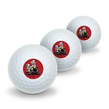 Dalmatian Dogs Firefighter Fire Helmet Novelty Golf Balls 3 Pack