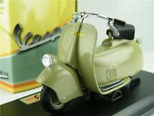 VESPA MP5 PAPERINO SCOOTER MODEL 1:18 SIZE GREEN 1945 MOPED MAISTO 04340GY T34Z