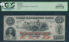 Waupun, WI- Corn Exchange Bank $5 18__ Remainder.