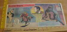 Lost World Rudolph Valentino Seein' Stars Feg Murray 1940s Sunday color panel 2e