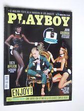 PLAYBOY  n.50 Feb 2014  AMANDA LEAR, JUSTINE GREINER
