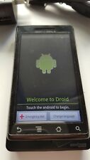 Motorola Droid A855 - Black (Verizon) Smartphone with slide out keyboard