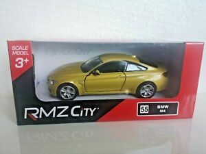 🚓 RMZ City BMW M4 1:32 1:36 1:39 car scale model new in box