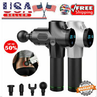 Massage Gun Percussion Massager Muscle Vibration Relaxing Therapy Deep Tissue US