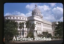 1949 red border kodachrome Photo slide  Havana Cuba The Capitol