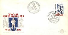 E77 First Day Cover Netherlands 1965 Mariniers (855)
