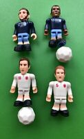 TOPPS CARROLL, COLE, DOWNING & JONES, Mini FIGURES ENGLAND FOOTBALL HOME & AWAY