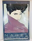 1985 Patrick Nagel - The Book - Mirage Editions Poster Art Print 1985 HALF WRAP