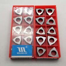 10Pc MW0804 Carbide Shim Trigon for WNMG0804 Insert Turning Tool Holder Boring