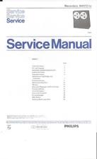 Philips Service Manual für N 4512 komplett  deutsch  Copy