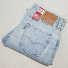 Mens Levis 501 Ct Customised & Tapered Jeans Size W34 34l